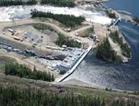 Hydro-Québec, Chute-Allard Power plant