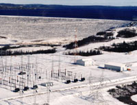Hydro-Québec, Tilly switchyard