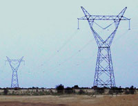 Manantalie Energy board (SOGEM), Senegal<br/>High voltage transmission line